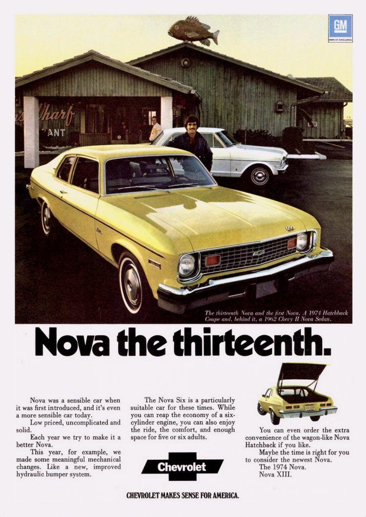 '70s Chevy Nova cars: Hatchbacks, police cars & more classic compact Chevrolets – Click Americana