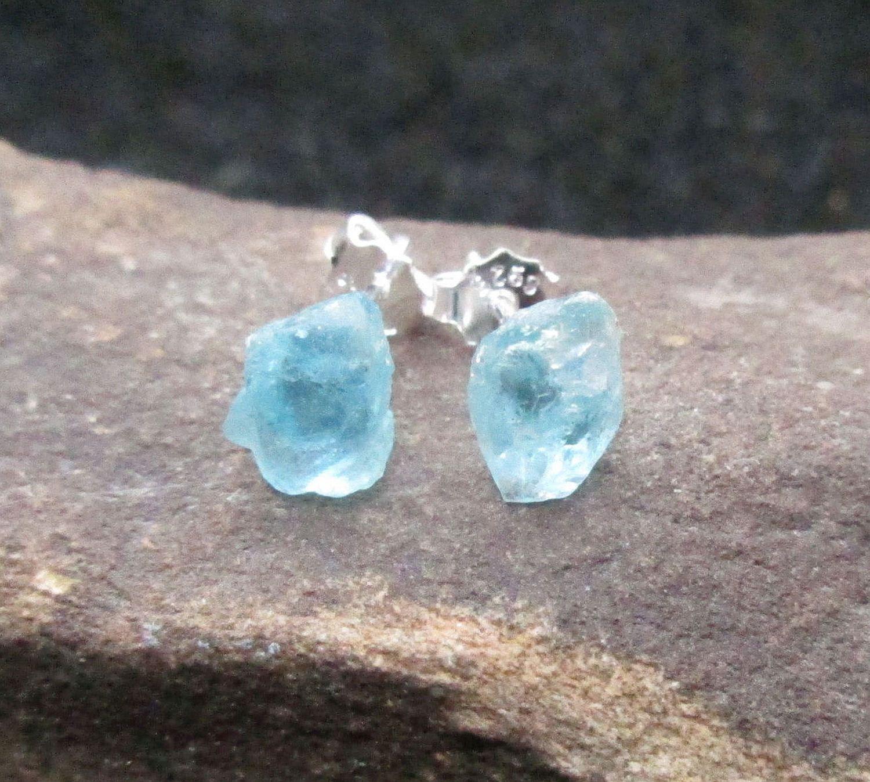 Dangle Silver Earrings Beach Wedding Bride Earrings Blue Apatite Earrings Bridesmade Gift Women Present Pearl Earrings Christmas Gift