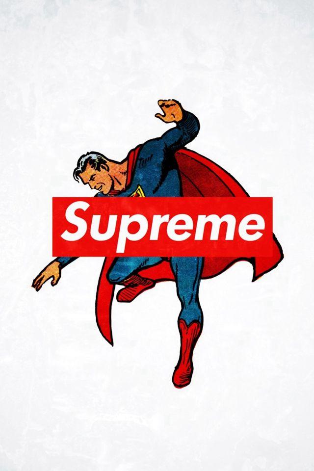 Supreme Trend Logo Film Art iPhone 4s wallpaper