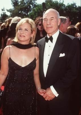 Former husband and wife couple: Patrick Stewart and Wendy Neuss