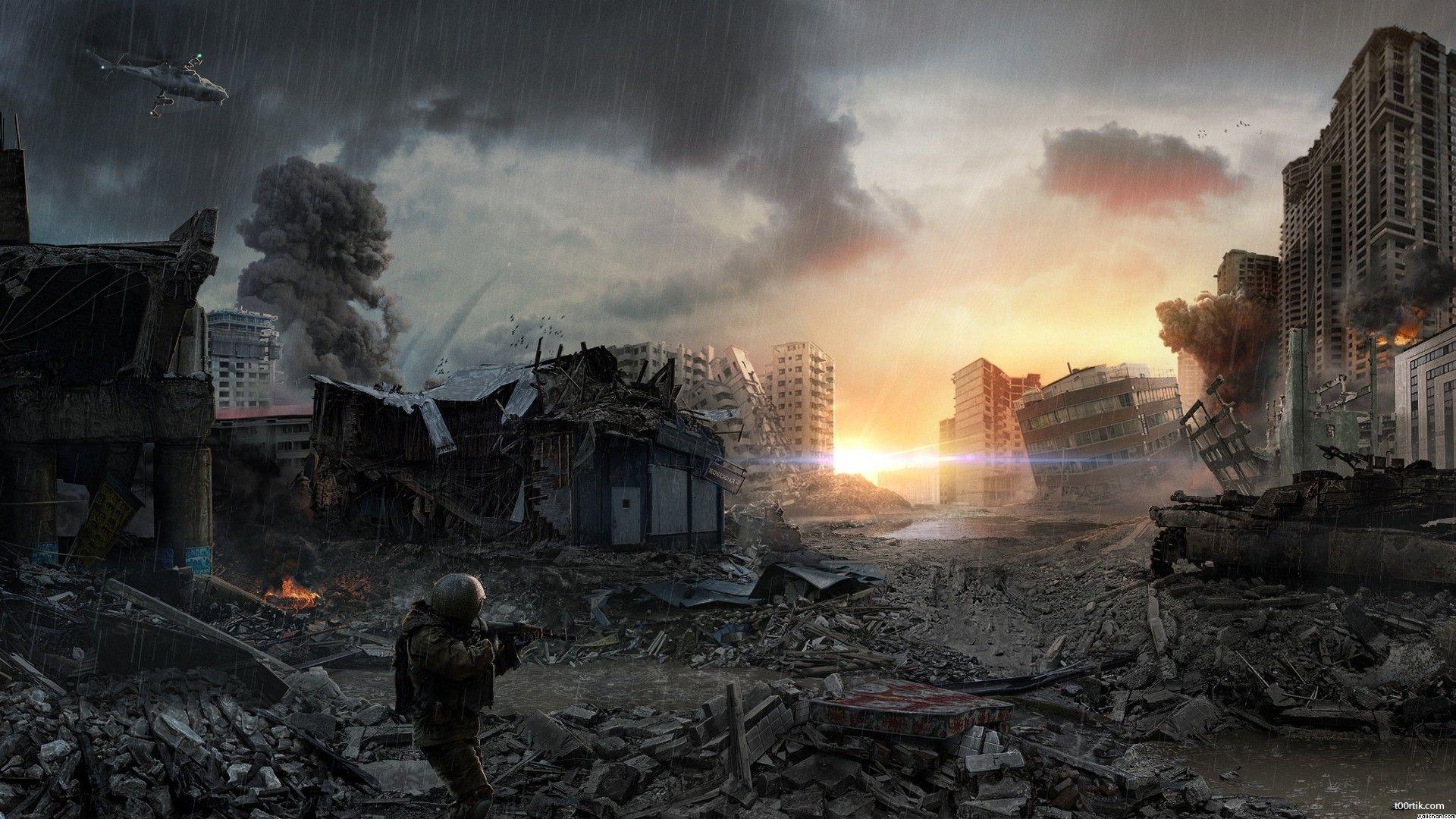 Apocalypse Battle War Soldier Wallchan 203618 Jpg 1920 1080