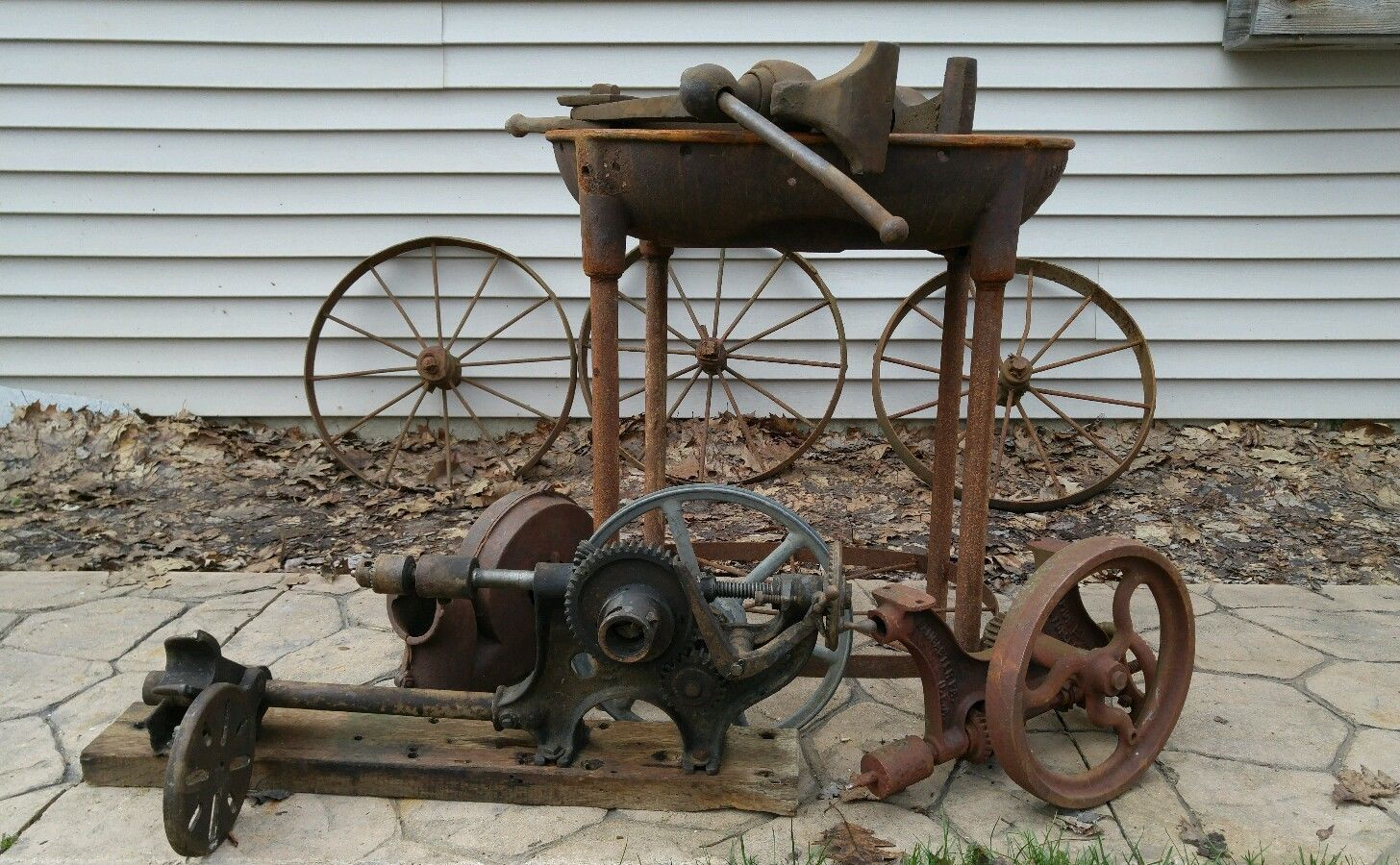 Buffalo Forge Co Dated July 1877 Forge w Blower Champion