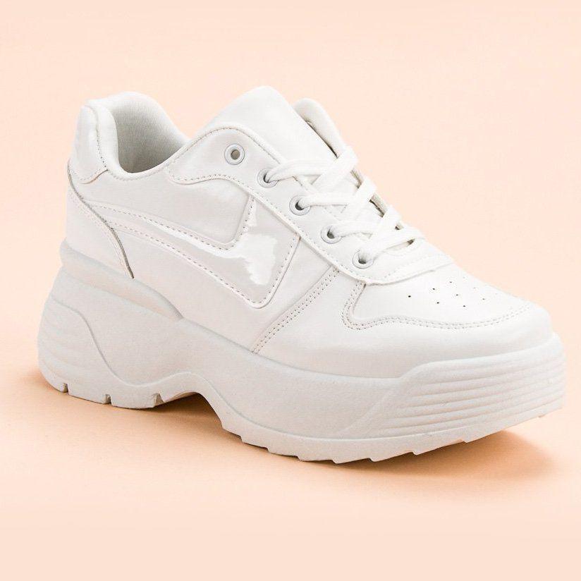 Kylie Sneakersy Na Platformie Biale Air Max Sneakers Sneakers Nike Nike Air