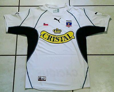 Rare PUMA COLO-COLO Chile Soccer Jersey Men's Medium