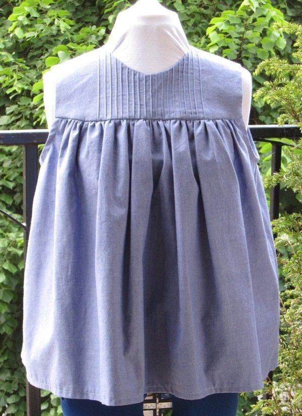 PDF Sewing Pattern Tunic Top  £4 00, via Etsy  | Diy | Pdf patterns
