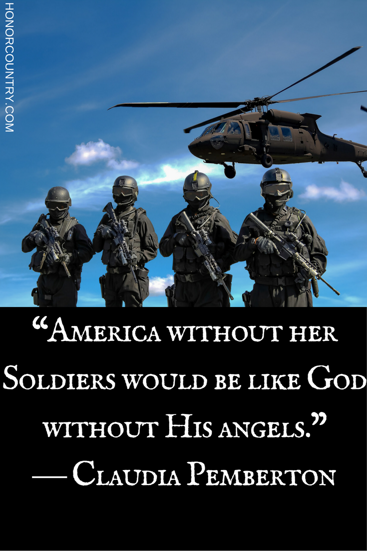 Today's military Monday quote of the day. What is your