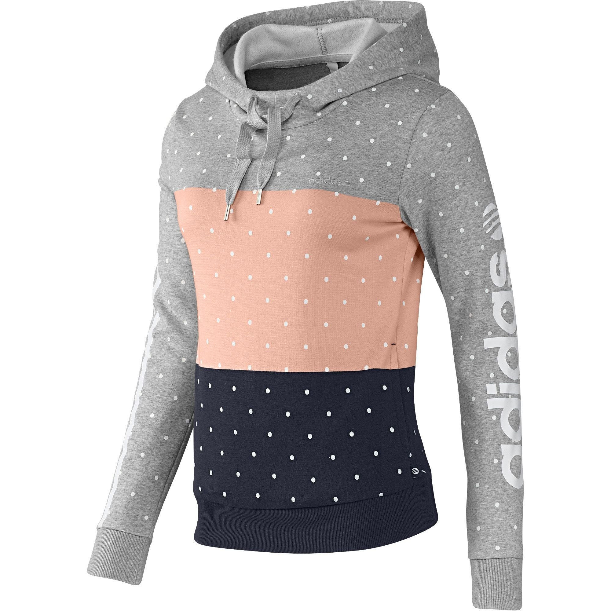 outlet store 5beb5 f46e0 adidas Dames Colorblock Hoodie | adidas Nederland | my ...