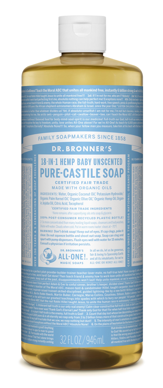 Amazon Com Dr Bronner S Organic Lavender Hand Sanitizer 2 Pack