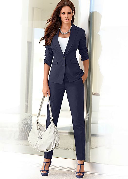 There S Nothing Like A Navy Blue Suit It Just Screams Power I