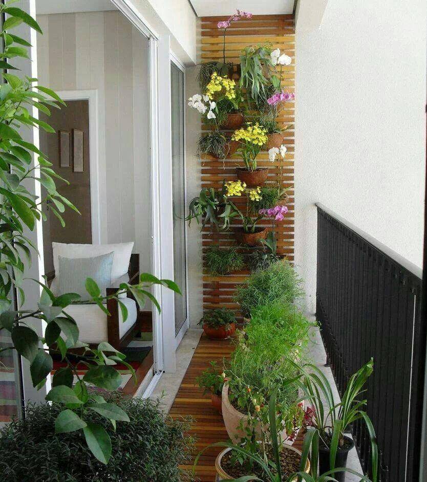 Apartment Balcony Garden Ideas Decoomo