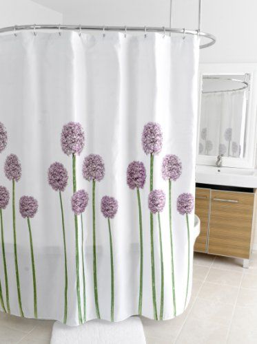 Splash Home Shower Curtain 70 By 72 Inch Allium Splash Http Www Amazon Com Dp B00hizk31 Purple Shower Curtain