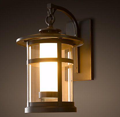 Restoration Hardware It Is Fun To Add Lantern Lights Inside Would Look Great On