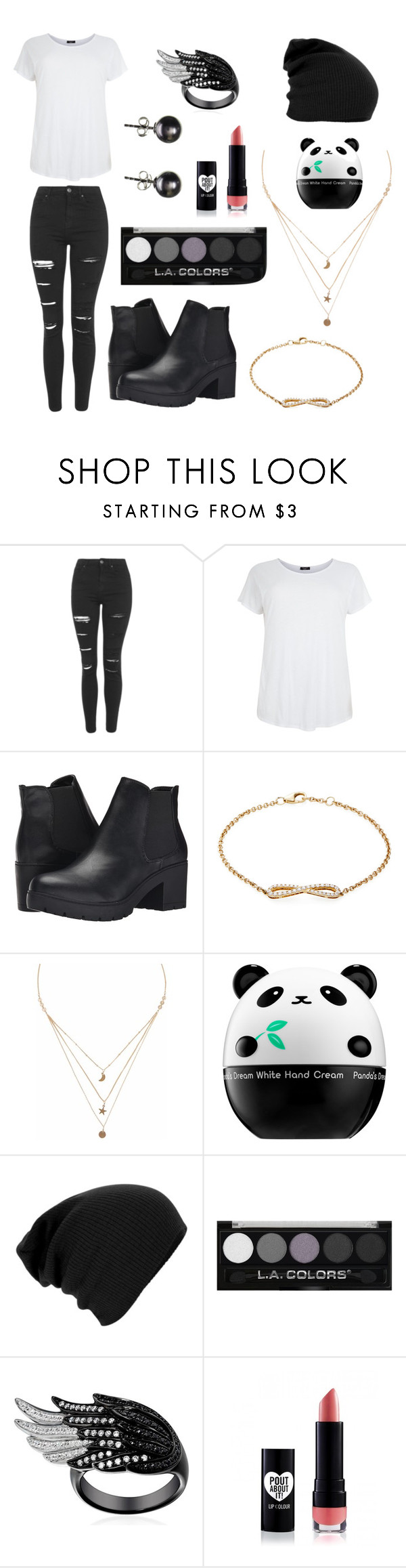 """""""Untitled #69"""" by amanda-s-irizarry ❤ liked on Polyvore featuring Topshop, Steve Madden, Nephora, Liz Law and Tony Moly"""