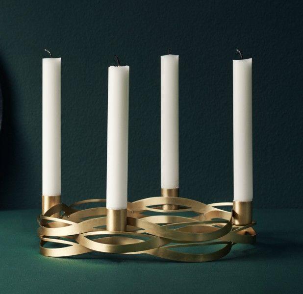 stelton tangle kerzenst nder advent 4 flg stelton. Black Bedroom Furniture Sets. Home Design Ideas
