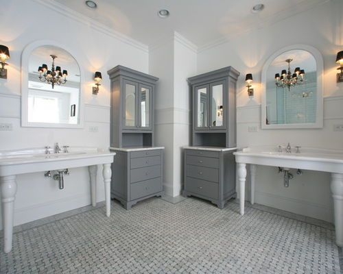 Grey Bathroom Designs Awesome 20 Refined Gray Bathroom Ideas Design And Remodel Pictures  Grey Design Decoration
