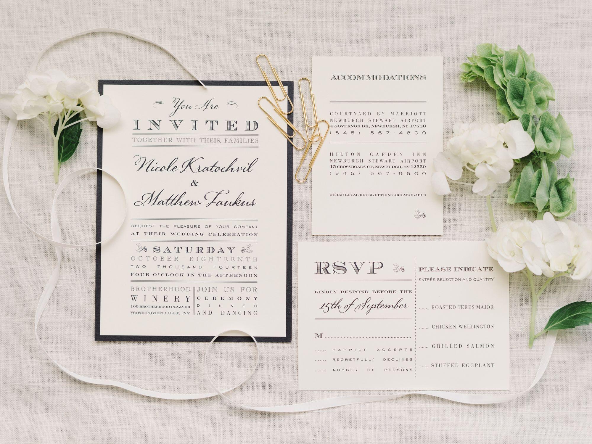 Q&A: Invitations: When to Send Wedding Invitations? | Weddings