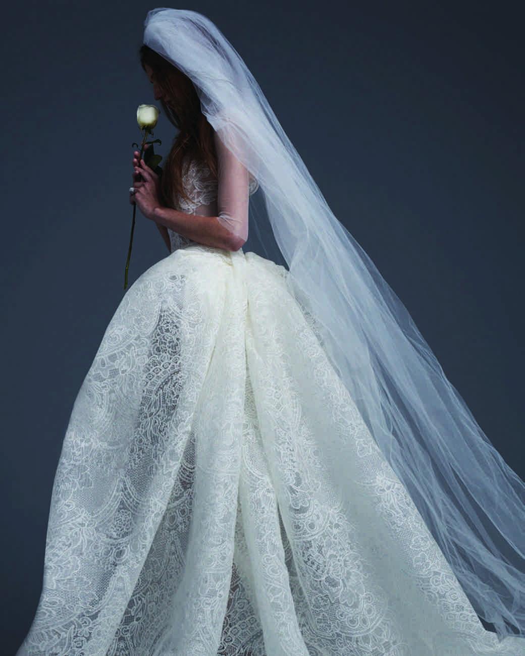 Vera Wang Fall 2017 Wedding Dress Collection | Martha Stewart ...