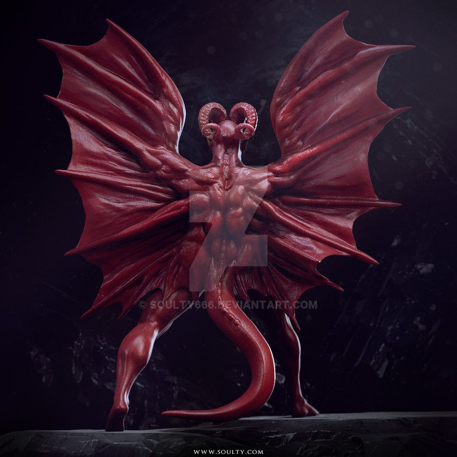 The Great Red Dragon by soulty666 on DeviantArt