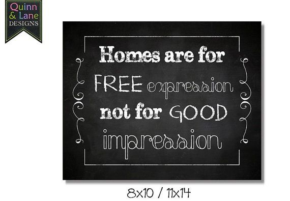 Home Free Expression Good Impression