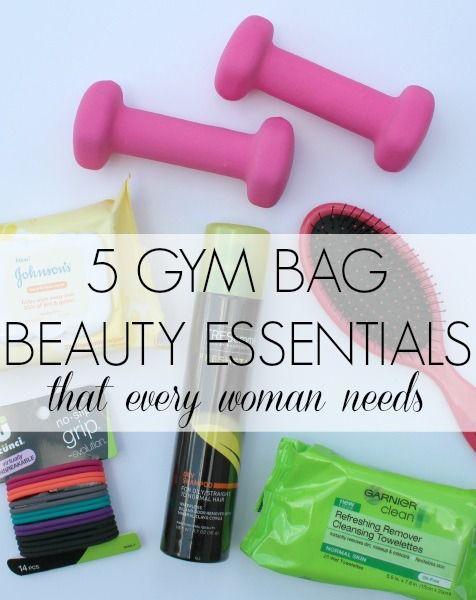 31105106ec 5 Gym Bag Beauty Essentials Every Woman Needs | Best of Pinterest ...