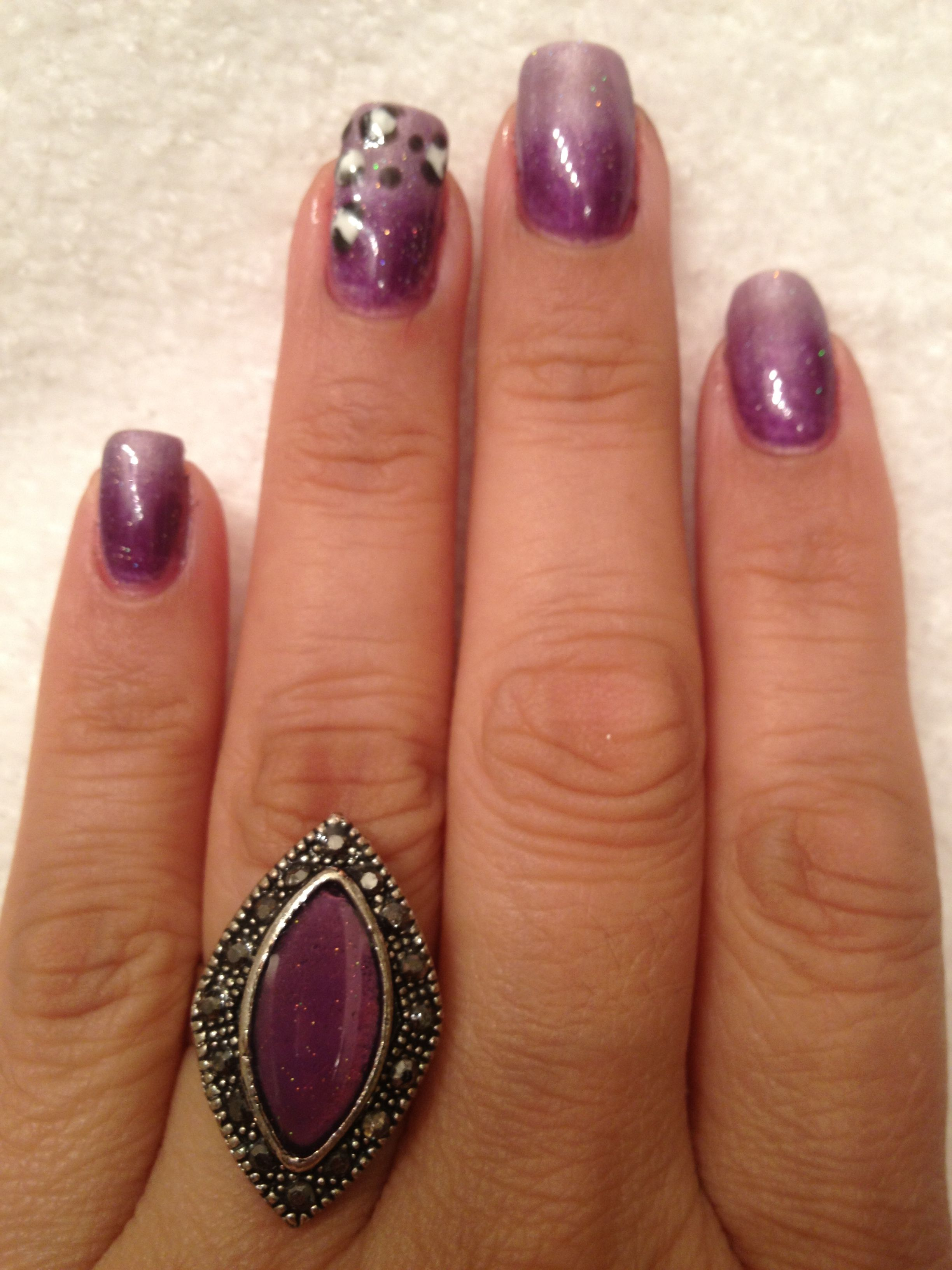 IBD Just Gel Polish in Amethyst Surprise and HRH by NailMance | The ...