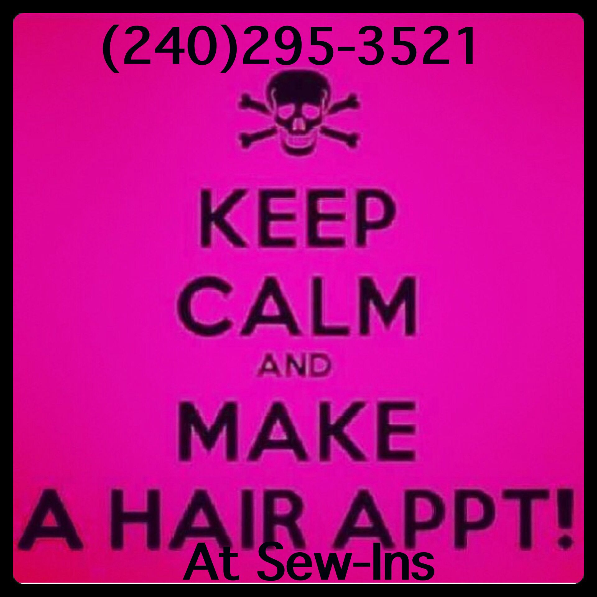 What are you waiting for????? www.sew-ins.com