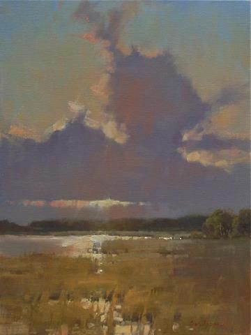 The Day Cindy Baron Shares Oil Painting Tips News From Southeastern Connecticut Oil Painting Landscape Landscape Art Seascape Paintings