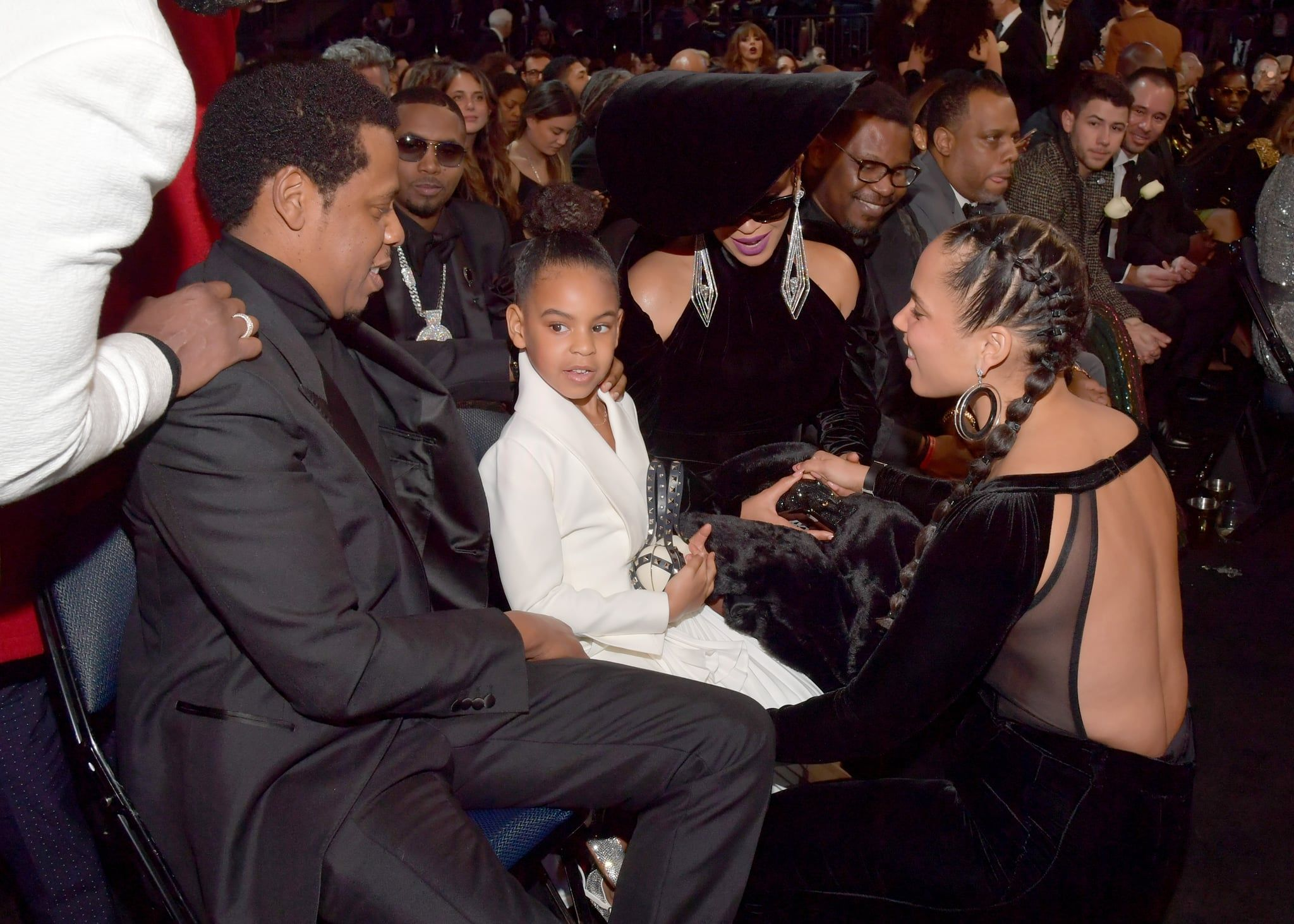 100 Grammys Pictures That Will Pretty Much Put You Front Row Beyonce And Jay Blue Ivy Carter Beyonce And Jay Z