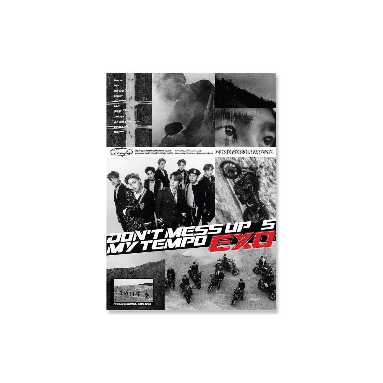 The 5th Full Length Studio Album Don T Mess Up My Tempo Allegro Version Is A 11 Track Multi Genre Compilation With A Rhythmical Powerful And Energetic Dan