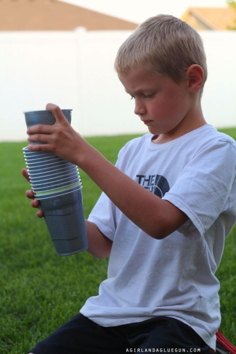 18 activities to do with plastic cups!