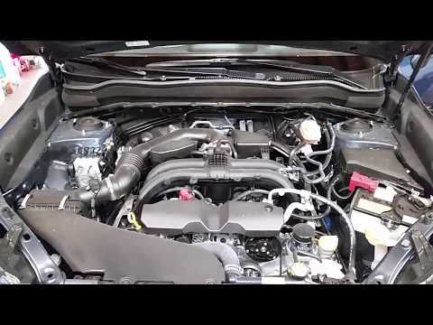 832) 2014-2018 Subaru Forester SUV - How To Open Hood