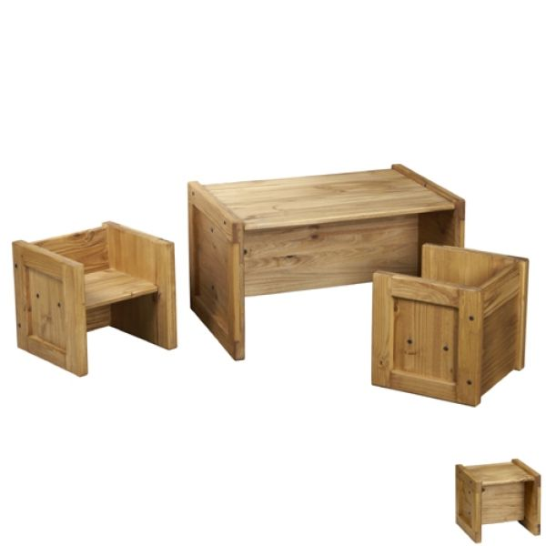 THE OFFICIAL This End Up Classic Kids Table Chairs