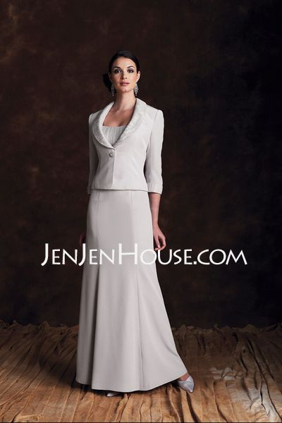 Mother of the Bride Dresses - $177.29 - A-Line/Princess Strapless Floor-Length Organza  Satin Mother of the Bride Dresses With Ruffle (008006285) http://jenjenhouse.com/A-line-Princess-Strapless-Floor-length-Organza--Satin-Mother-Of-The-Bride-Dresses-With-Ruffle-008006285-g6285