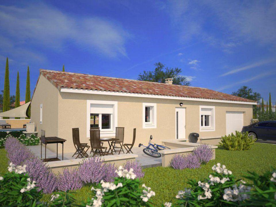 Plan maison neuve construire maisons france confort for Maison 90m2 prix
