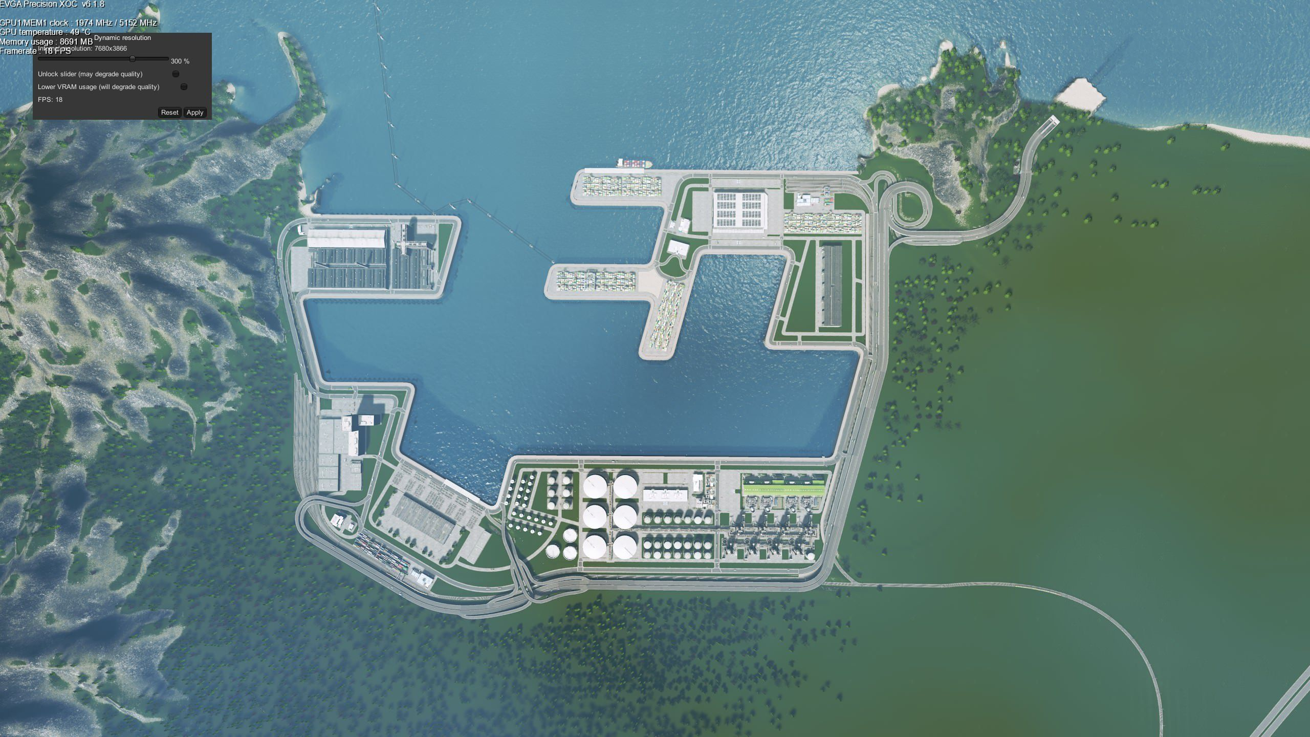 Industrial Harbour Wip Citiesskylines City Layout City Skylines Game City Building Game