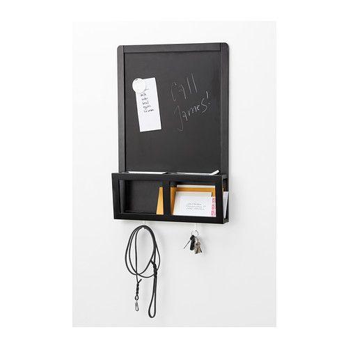 LUNS Tabuľa na písanie/magnetická IKEA Skvele sa hodí na kľúče, poštu a mobilné telefóny.