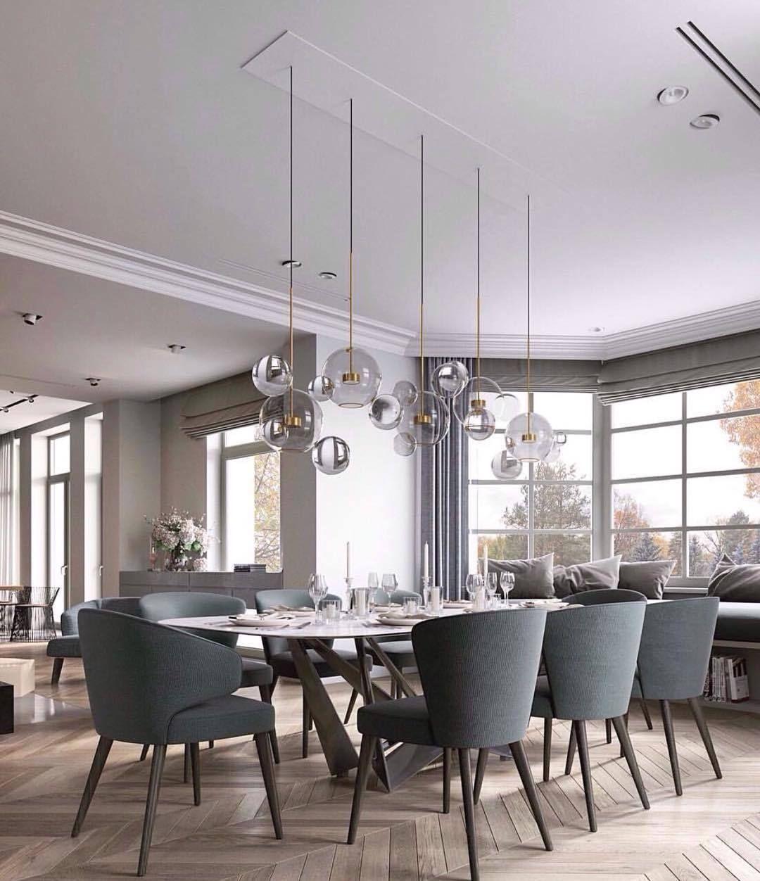 Bolle Pendant Light Mooielight Modern Dining Room Dining Room Decor Dining Room Design