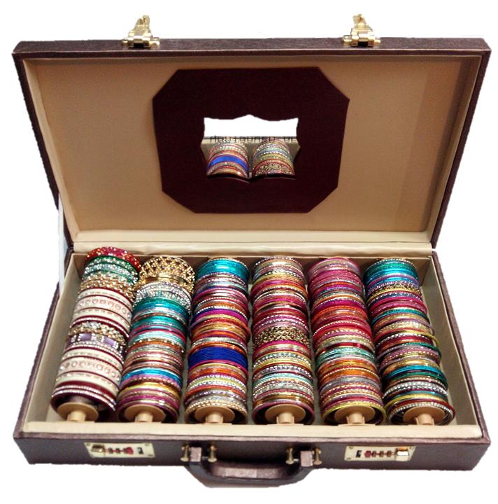 Premium Bangle Box - 6 Rods - Export Quality