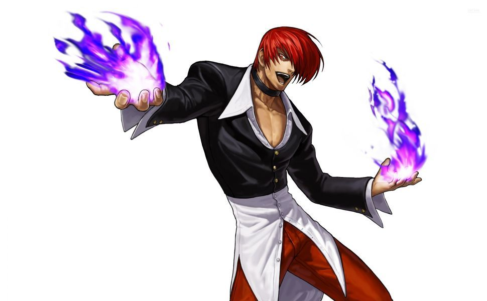 Iori Yagami Hd Wallpaper King Of Fighters Fighter Anime