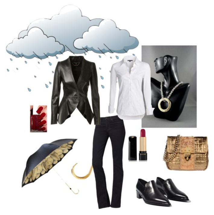 Jewelry Designer Blog. Jewelry by Natalia Khon: What jewelry to wear with a leather jacket