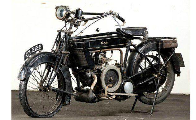Retrospective: 1922 Humber Cycle