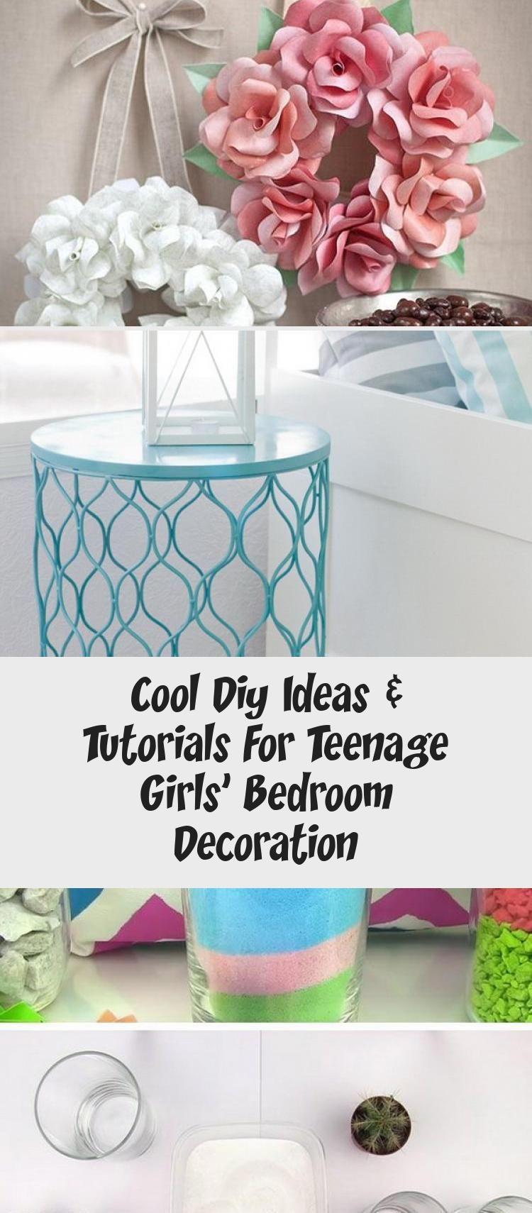 Cool Diy Ideas & Tutorials For Teenage Girls' Bedroom Decoration - #teenagegirlbedrooms