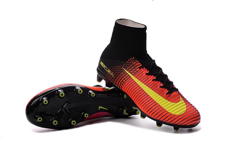 Total Crimson Volt Pink Blast Nike Kids Mercurial Superfly V AG Pro - Artificial  Grass - Junior Nike Football Boots - Kids -