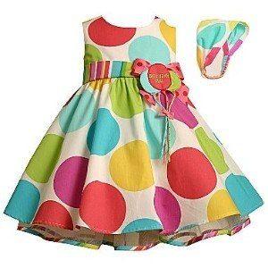 028702dec Vestido Aniversário Bonnie Baby 18 Meses