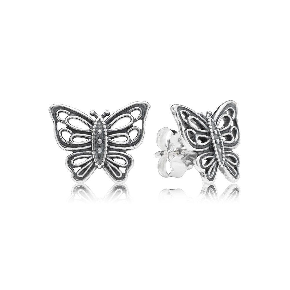 Pandora 290547 Love Takes Flight Earrings UK