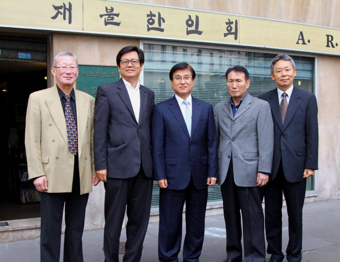 이혜민 주불대사, 재불한인회 방문 [한위클리, 2012-09-27]
