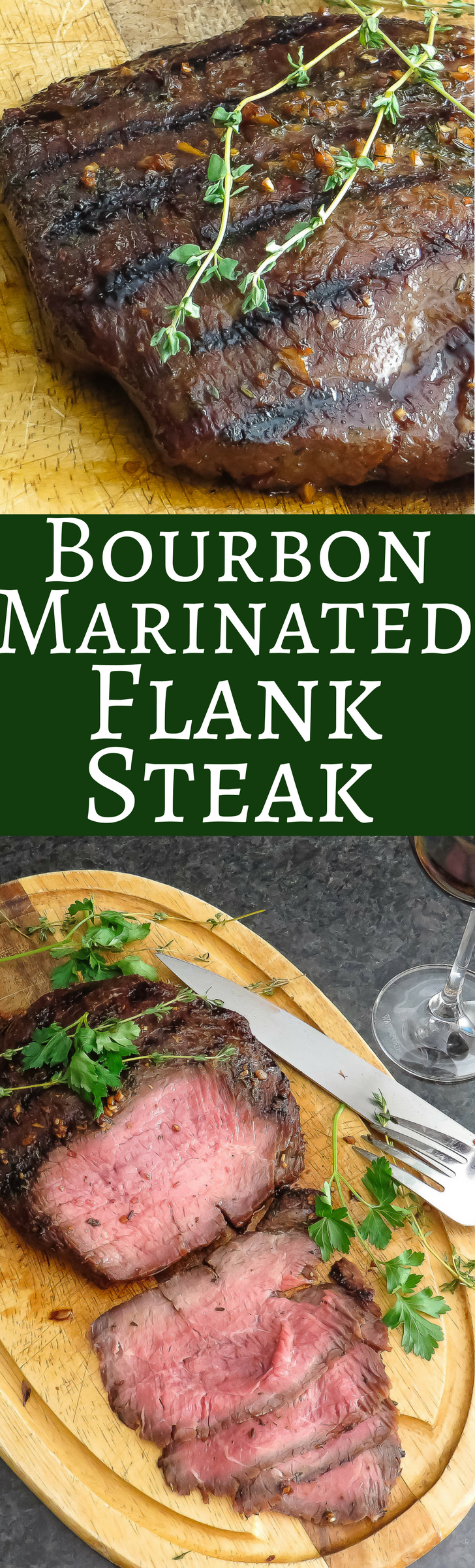 Photo of Bourbon Marinated Grilled Flank Steak