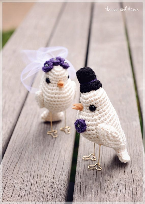 Dreamy Bride and Groom with Wedding Cake amigurumi pattern by ... | 801x570