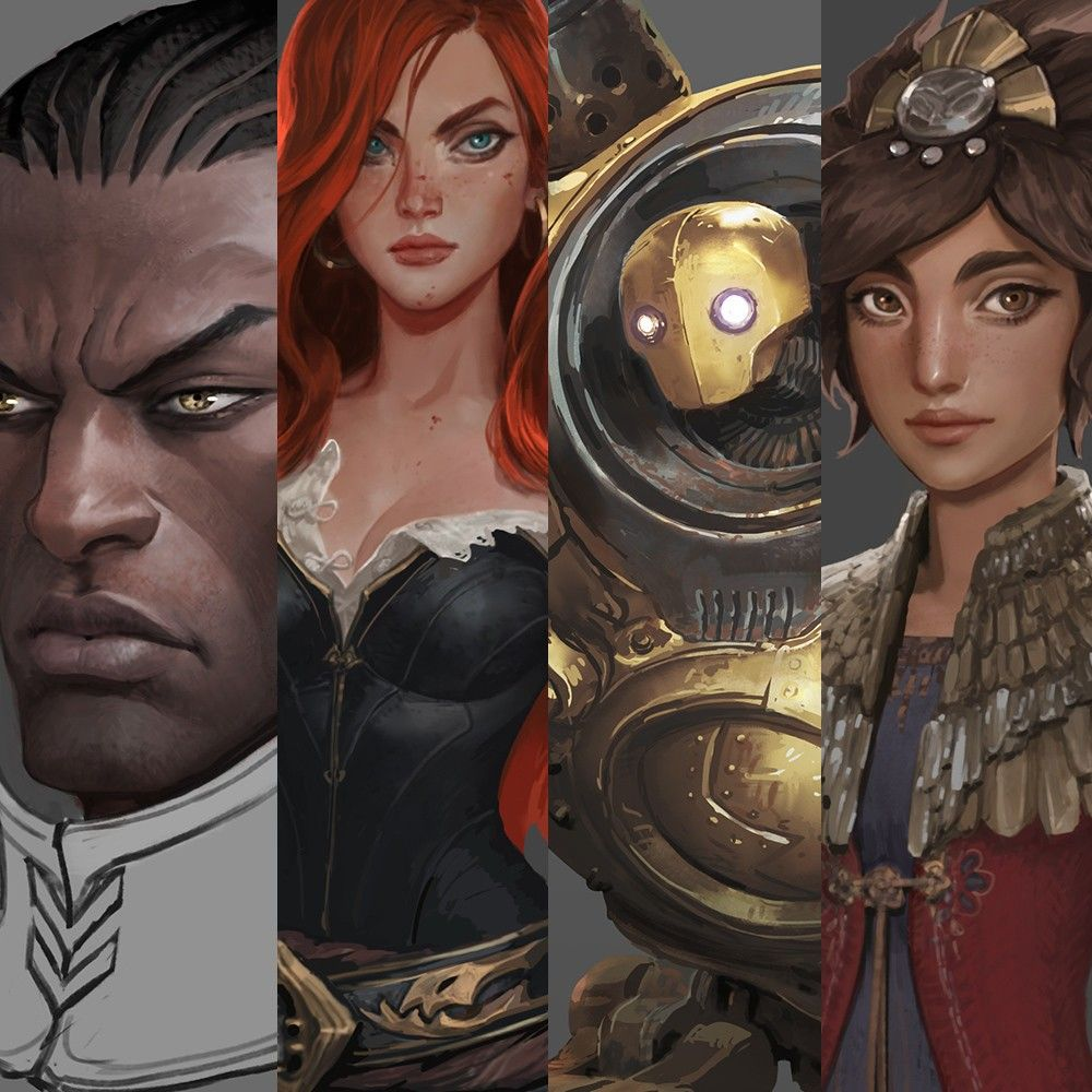 Lucian, Miss Fortune, Blitzcrank and Taliyah