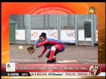 RD Derrota A España En Torneo Femenino De Softball #Video